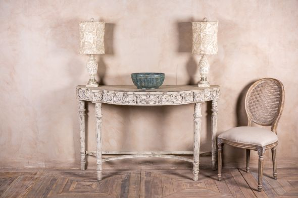 Milan Demi-Lune Console Table