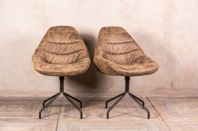 upholstered retro style chair