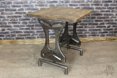 vintage machinist table base