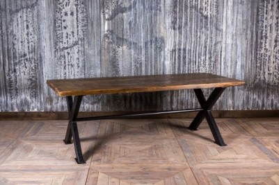 x frame dining table