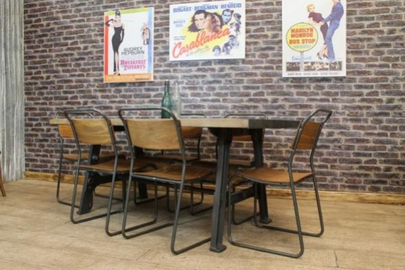 Shoreditch Industrial Style Table Range