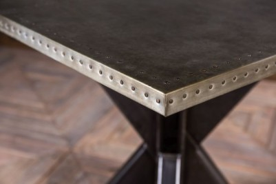 industrial style cafe table