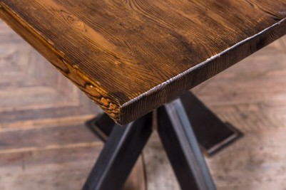 antique finish dining table
