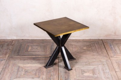 brass top pedestal dining table