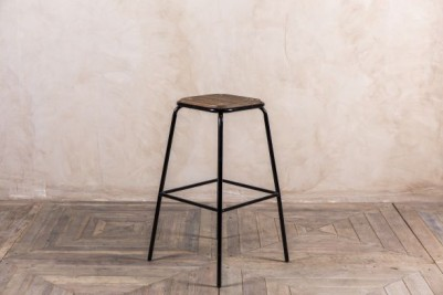 tall industrial style stool