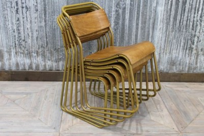 stackable cafe chair