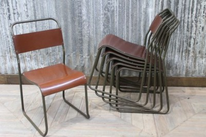 stacking retro dining chairs