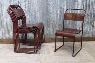 burgundy red dining chairs