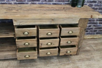 industrial style sideboard