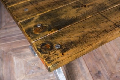 galvanised table
