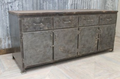 large industrial workbench