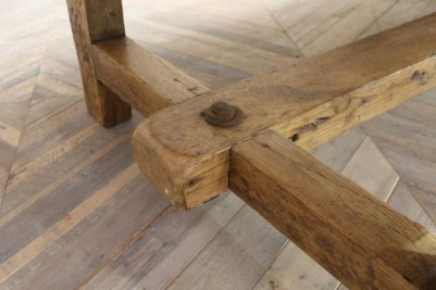victorian pine table base
