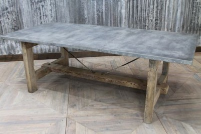 industrial style dining room table