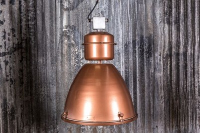 oversized industrial pendant light