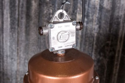 vintage copper light