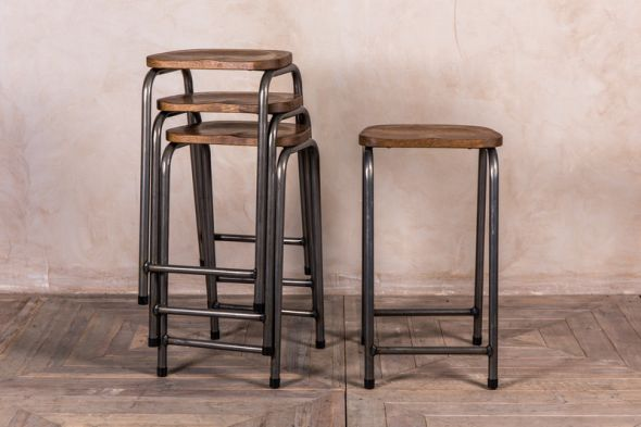 Finsbury Metal Lab Stool Range