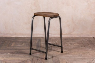 vintage industrial bar stools