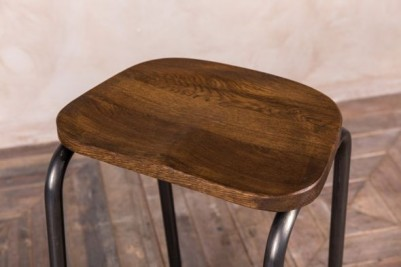 waxed bar stools