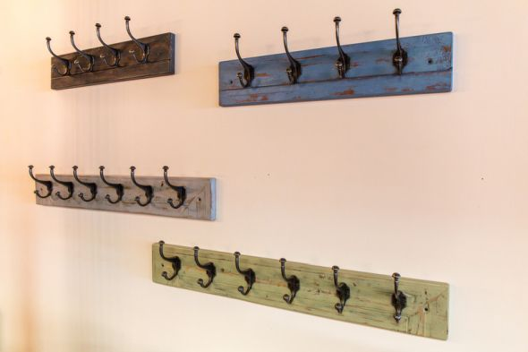 Reclaimed Timber Coat Hook Range