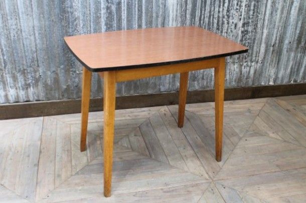 Formica Table Retro Vintage Cafe Table With Formica Top