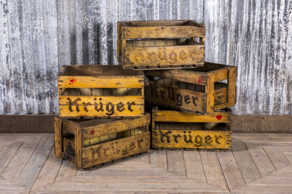 Old Wooden Crates