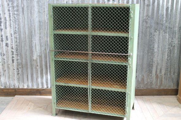 Wire Mesh Kitchen Pantry Cabinet