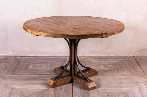 Ironbridge Bespoke Pine Pedestal Dining Table