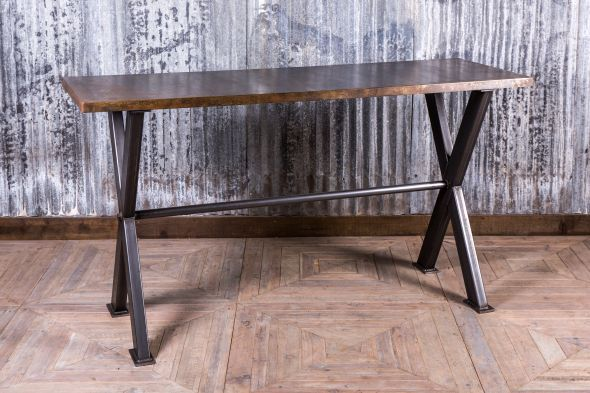 Bespoke Steel Poseur Table