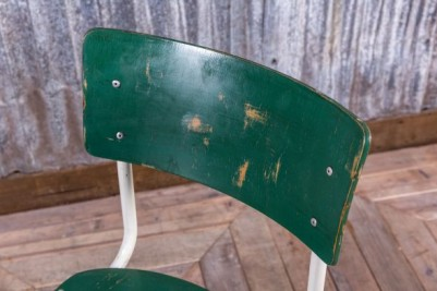 stackable green chair