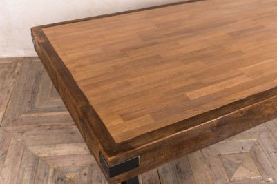 thick oak table top
