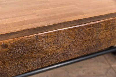 chunky butcher block table top