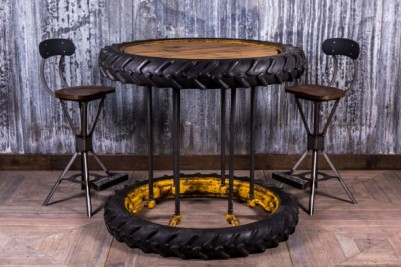 tractor wheel table