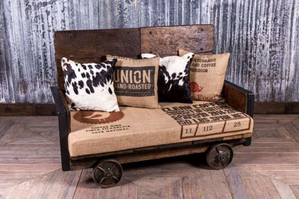 Vintage Trolley Sofa