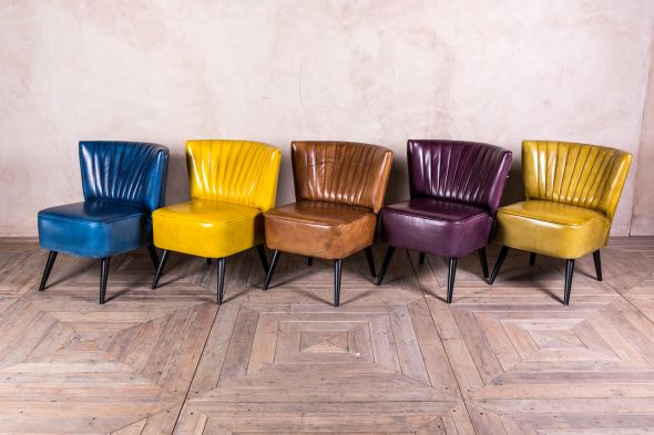 Salisbury Leather Cocktail Chair Range