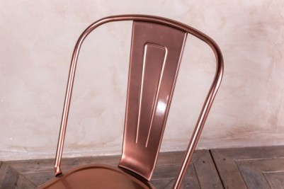 bright copper restaurant chairs