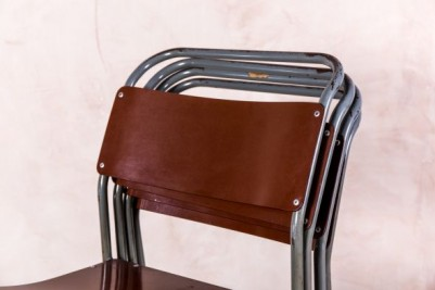 tubular steel school chair