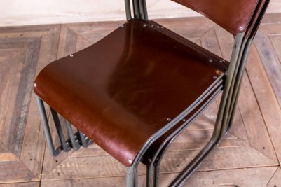 vintage Bakelite stacking chairs