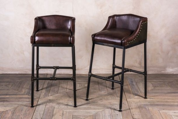 Pipework Steamer Bar Stool