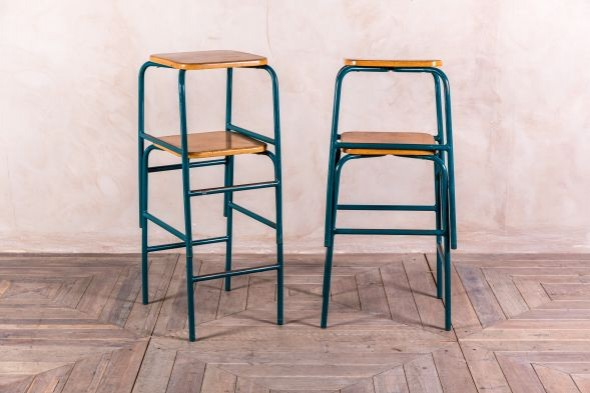 Vintage Stacking Science Stools