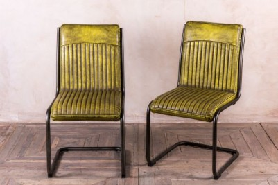 Goodwood vintage yellow chair