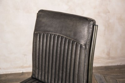 industrial style grey chair
