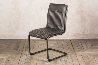 vintage grey dining chair