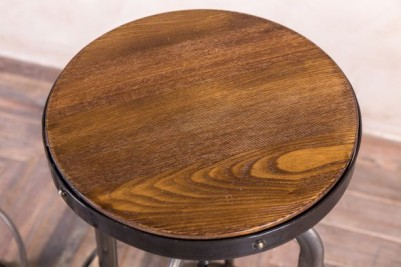 elm stool top