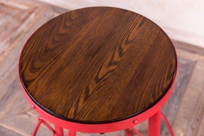 steel and elm bar stool