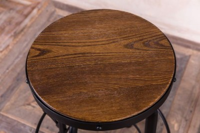 wooden top kitchen stool
