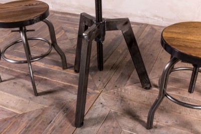 industrial style adjustable table