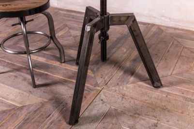 machinist metal height adjustable table
