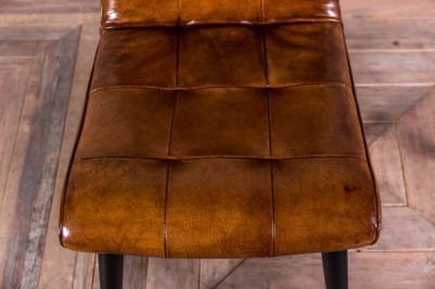 coloured leather seating