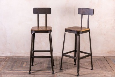 Acton stool wooden seat