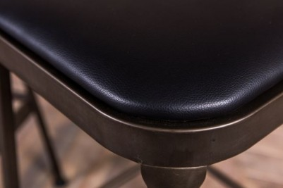 gunmetal coloured high stools